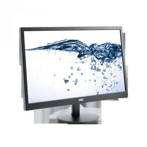 """AOC Οθόνη E2470SWDA 23.6"""" Full HD σε Μαύρο χρώμα - AOC περιφερειακά και αναλώσιμα   οθόνες"""