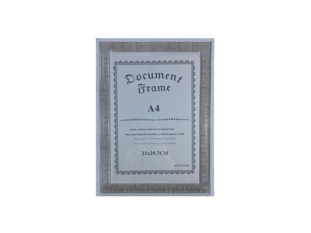 Παραλληλόγραμμη Κορνίζα 26x35cm σε Κλασσική γραμμή τύπου λινάτσα σε Καφέ χρώμα - διακόσμηση και φωτισμός   κορνίζες φωτογραφιών