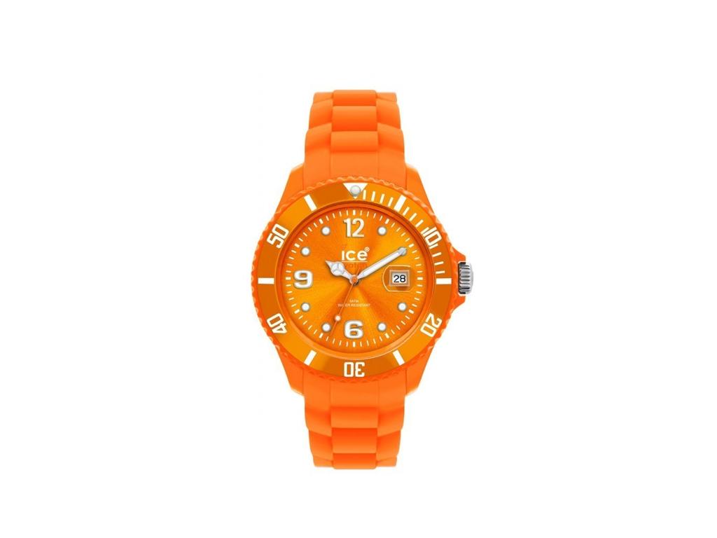 Ρολόι Sport Ανδρικό, μηχανισμός Quartz σε Πορτοκαλί χρώμα, Ice Watches SI.OE.B.S ρολόγια χειρός   ανδρικά ρολόγια χειρός