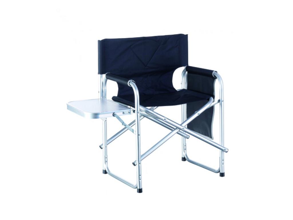 Lifetime Πτυσσόμενη Καρέκλα Κήπου Κάμπινγκ 47x57x79cm με Τραπεζάκι από Αδιάβροχο Ύφασμα σε Μαύρο χρώμα, 29181 - Lifetime