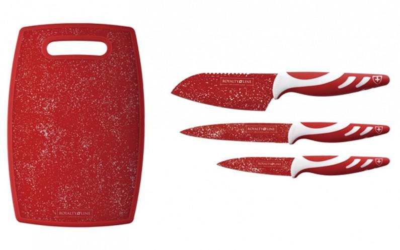 Royalty Line RL-3MBL & RL-3MR Σετ 3 αυθεντικών ελβετικών μαχαιριών από ανοξείδωτ αξεσουάρ μαγειρικής   μαχαίρια κουζίνας