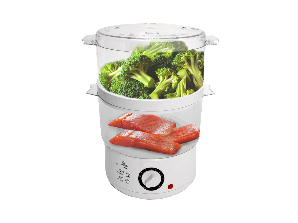 Cuisine Elegance Ατμομάγειρας τροφίμων, φρούτων και λαχανικών 400W χωρητικότητας ηλεκτρικές οικιακές συσκευές   ατμομάγειρες