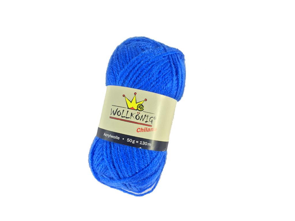 Νήμα Κλωστή χοντρή για πλέξιμο 100% Ακρυλικό 50gr-130m Χρώμα Μπλε Ηλεκτρίκ - Cb