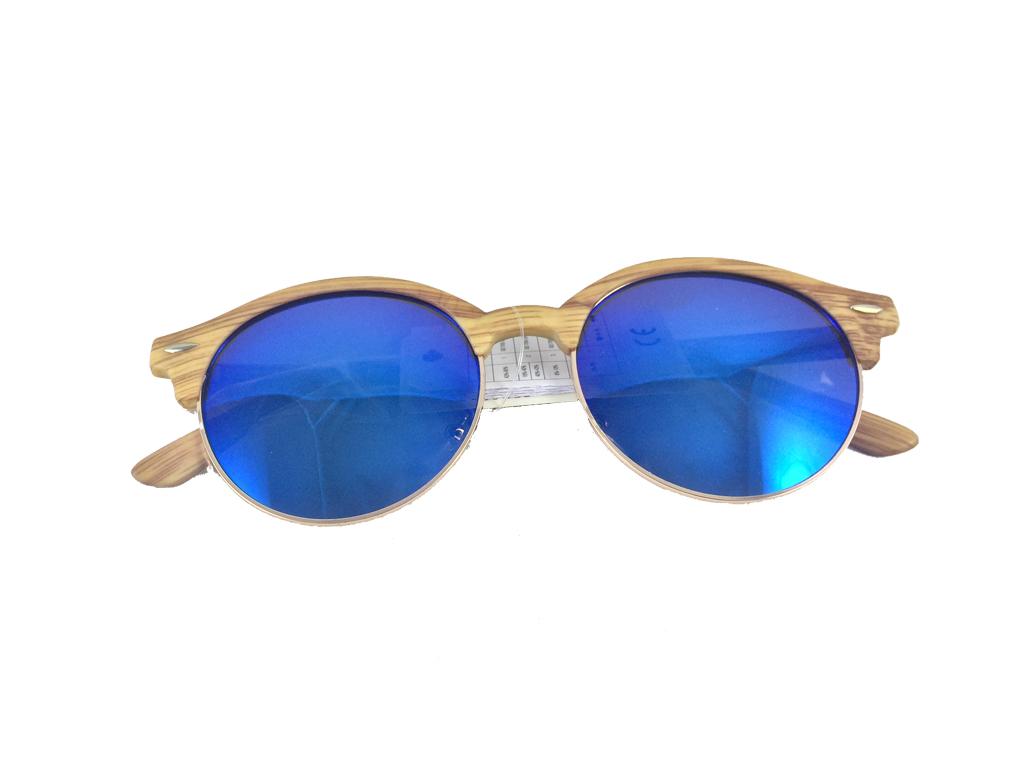 Dasoon Vision Unisex Γυαλιά Ηλίου με Σκελετό τύπου ξύλο, Μπλε φακός καθρέφτης κα υγεία  και  ομορφιά   οπτικά γυαλιά