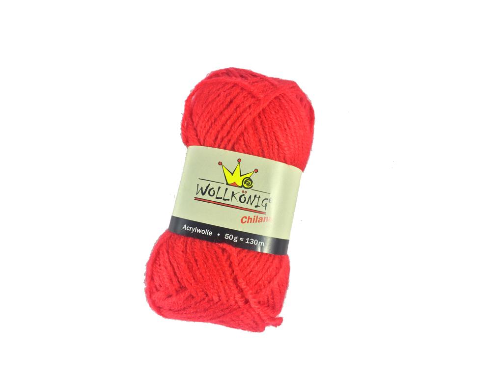 Νήμα Κλωστή χοντρή για πλέξιμο 100% Ακρυλικό 50gr-130m Χρώμα Κόκκινο - Cb