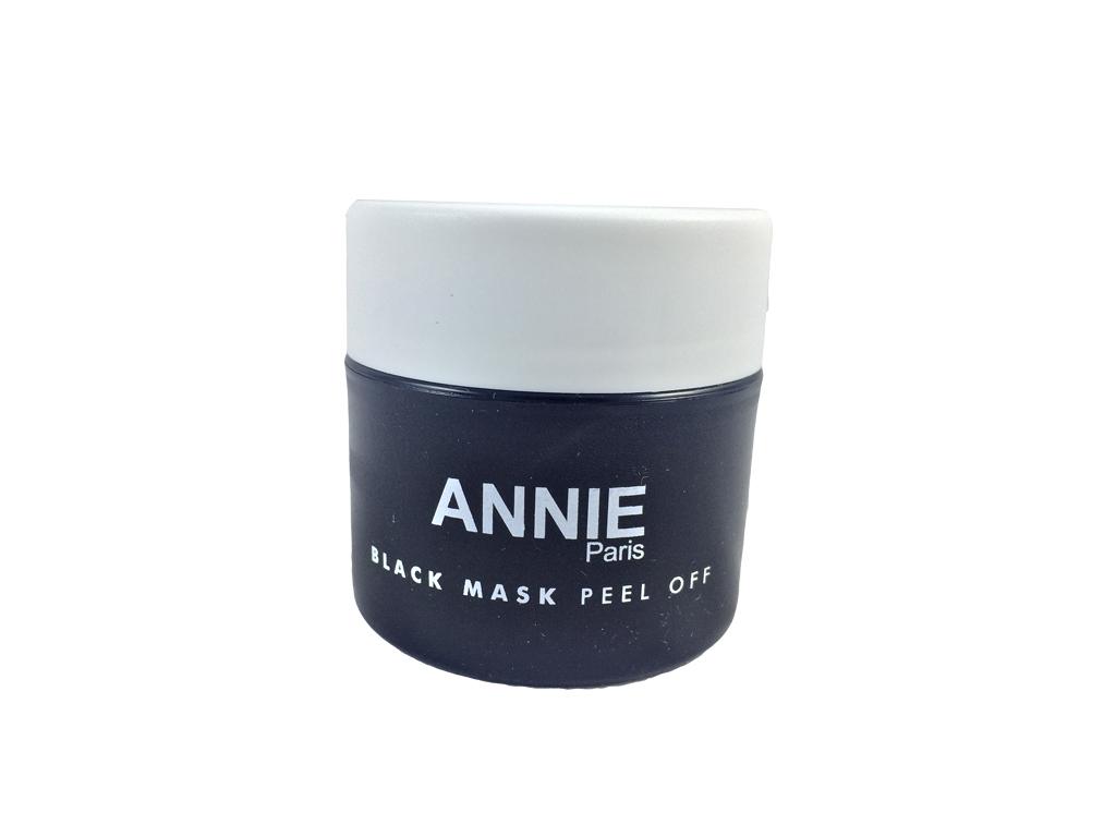 Black mask Annie Paris Μαύρη Μάσκα Προσώπου Peel Off για Καθαρισμό από Μαύρα Στί καλλυντικά προϊόντα   περιποίηση προσώπου