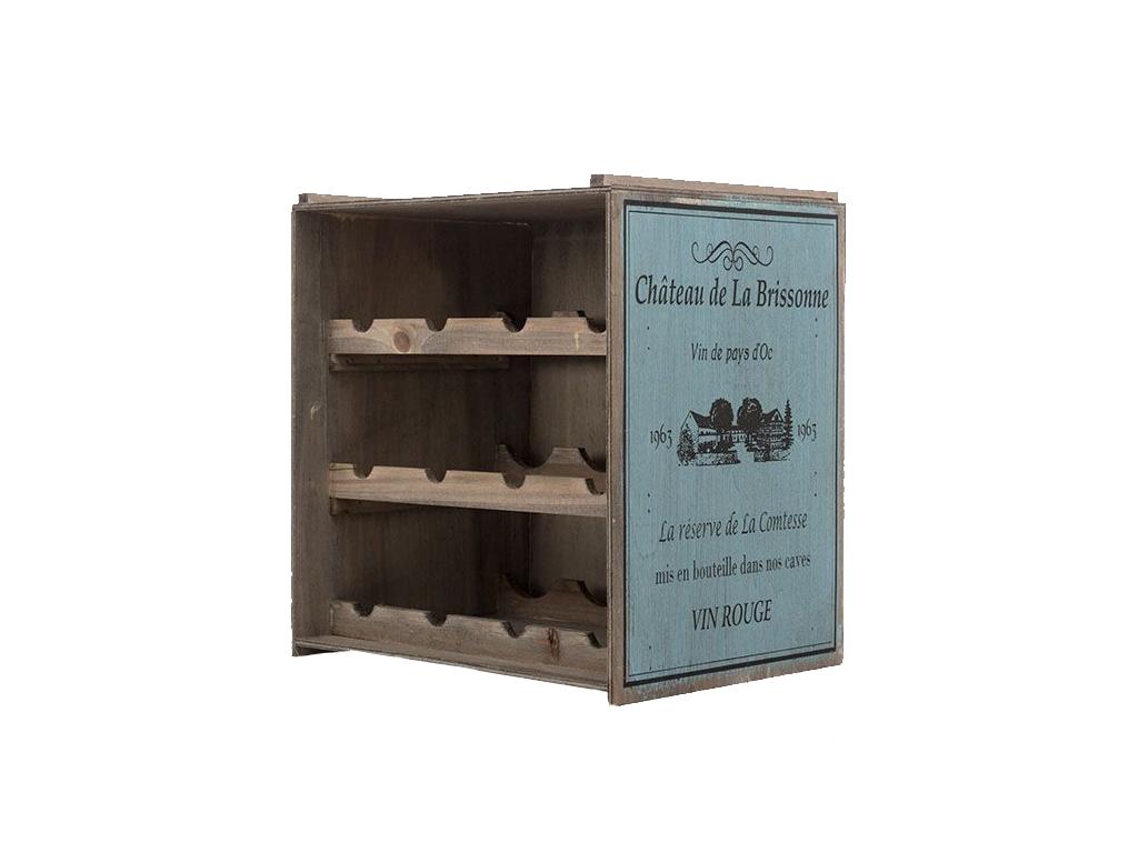 Vintage Coconut Μπουκαλοθήκη Κάβα κρασιών Ξύλινο Έπιπλο για αποθήκευση Κρασιών 3 κουζίνα   αξεσουάρ και έπιπλα αποθήκευσης κρασιών