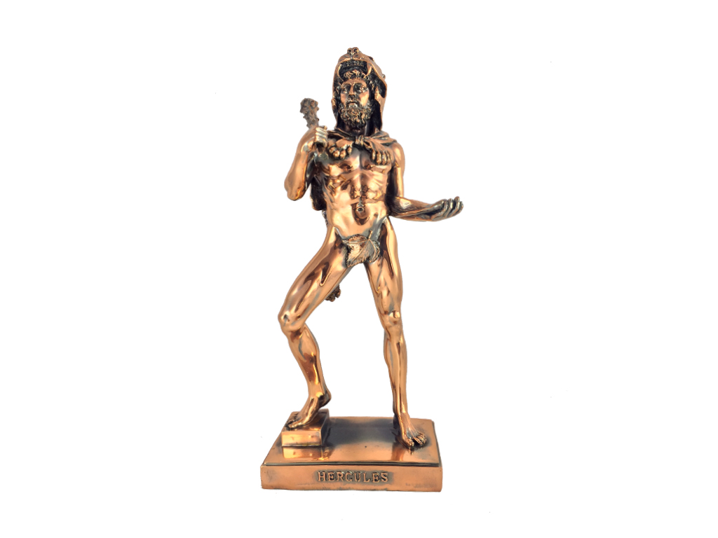 Διακοσμητικό Άγαλμα Ηρακλής - Hercules Μπρονζέ 13x33 cm - Cb διακόσμηση και φωτισμός   διακόσμηση τραπεζίου και ανθοδοχεία