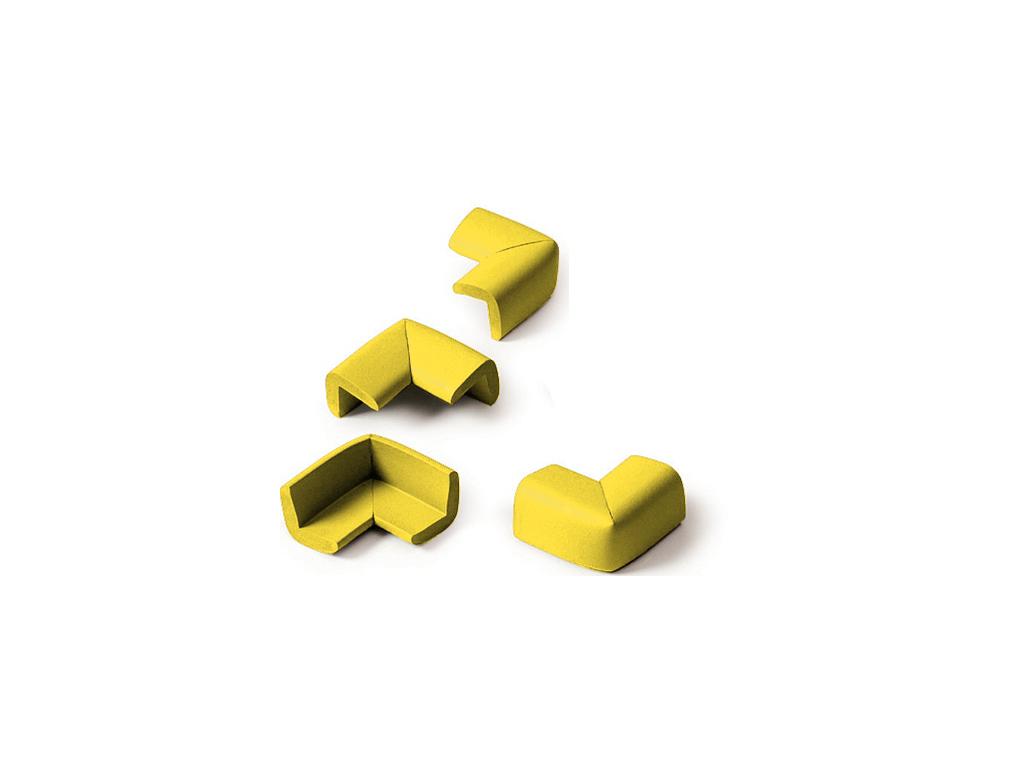 Αφρώδη Προστατευτικά γωνιών 4 τεμ. Κίτρινο - OEM σπίτι   οργάνωση σπιτιού