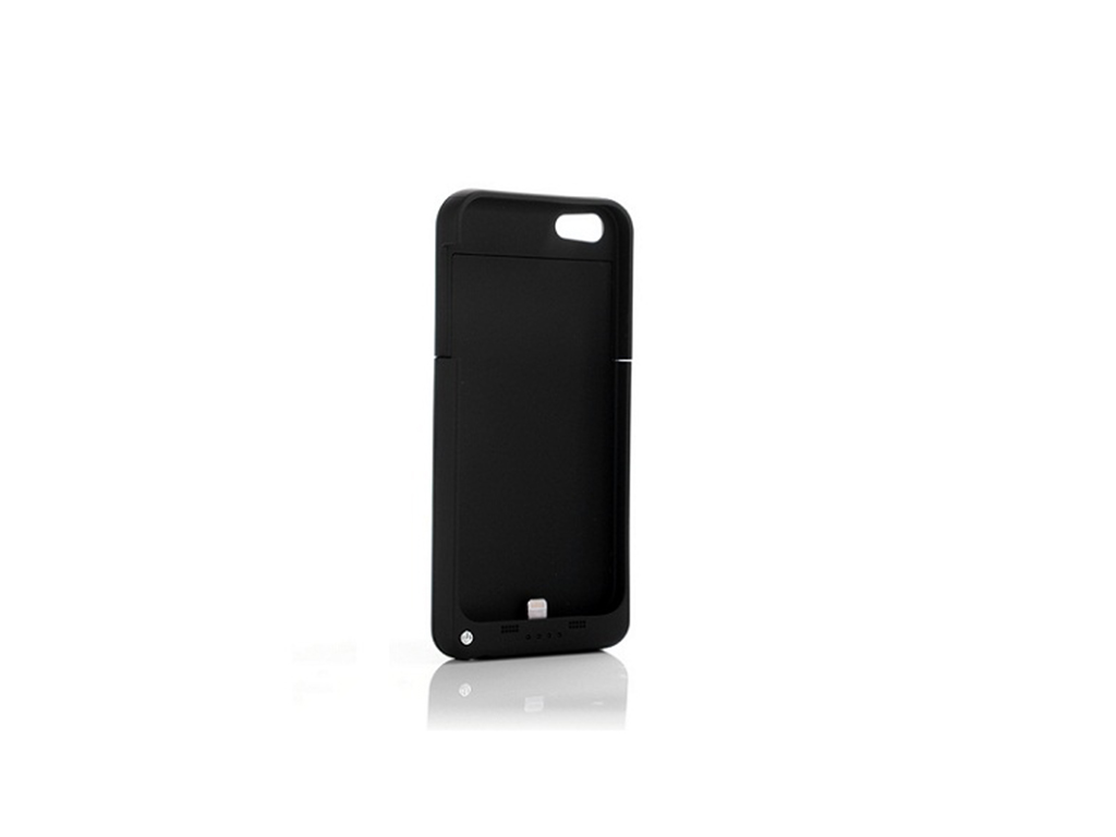 Power Bank 2200mAh - Ultra Slim Θήκη με Ισχυρή Μπαταρία για iPhone 5 Μαύρο - Pow τηλεπικοινωνίες   φορητοί φορτιστές   power banks