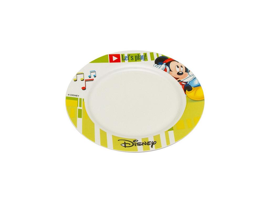 Disney Παιδικό Πιάτο 19cm από Πορσελάνη με θέμα Mickey Mouse, 648385 - Disney σερβίρισμα   σερβίτσια