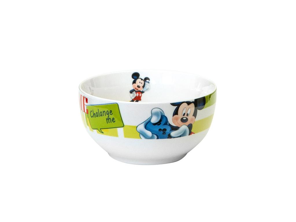 Disney Παιδικό Μπολ 13cm από Πορσελάνη με θέμα Mickey Mouse, 648384 - Disney σερβίρισμα   σερβίτσια