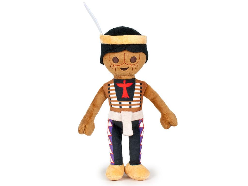 Playmobil Λούτρινο Παιχνίδι 33cm Ινδιάνος - Playmobil παιχνίδια   κούκλες και λούτρινα