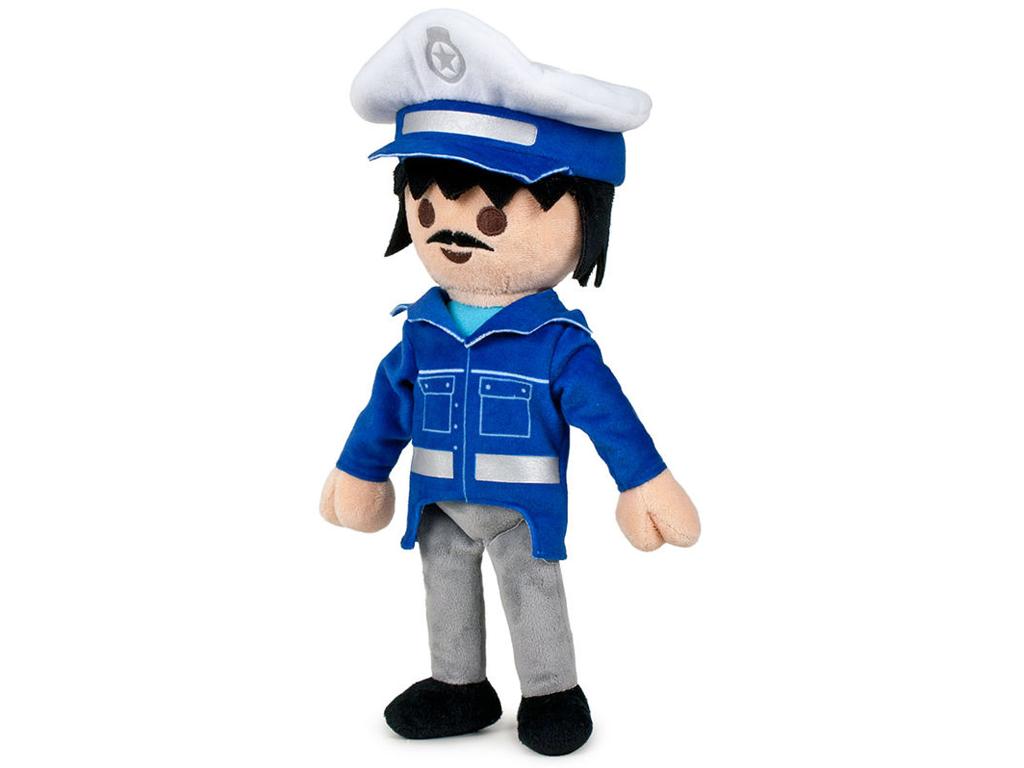 Playmobil Λούτρινο Παιχνίδι 33cm Αστυνομικός - Playmobil για μωρά   λούτρινα παιχνίδια