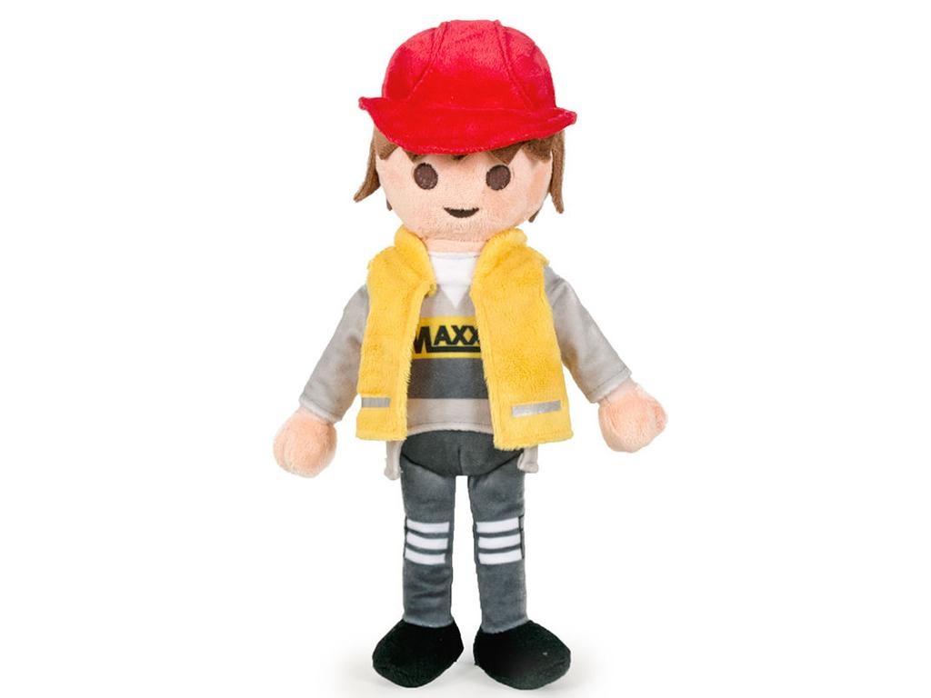 Playmobil Λούτρινο Παιχνίδι 33cm Εργάτης - Playmobil για μωρά   λούτρινα παιχνίδια