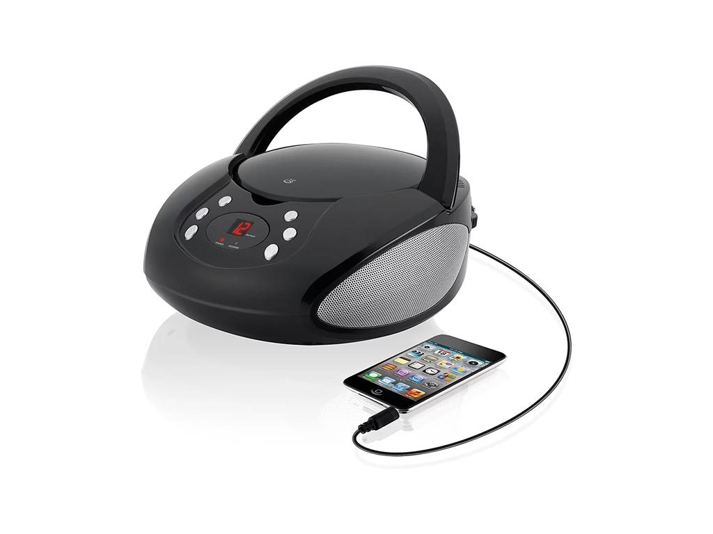 Boombox CD Player με AM/FM Ραδιόφωνο & AUX/MP3 είσοδο - GPX BC112B - OEM τεχνολογία   cd   mp3 4   dvd   media players