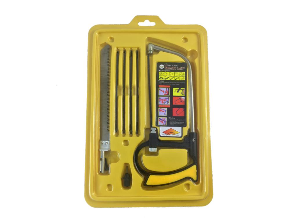 Σετ Πολυχρηστικό πριόνι με 5 ανταλλακτικές λεπίδες που κόβουν τα πάντα - OEM σπίτι   εργαλεία είδη επαγγελματισμού