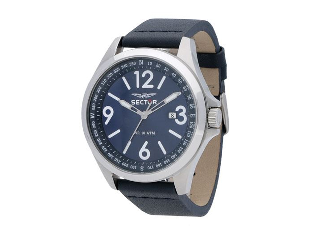 Sector R3251180017 Ανδρικό Ρολόι 180 Series watch Blue Dial and Strap - Sector ρολόγια χειρός   ανδρικά ρολόγια χειρός