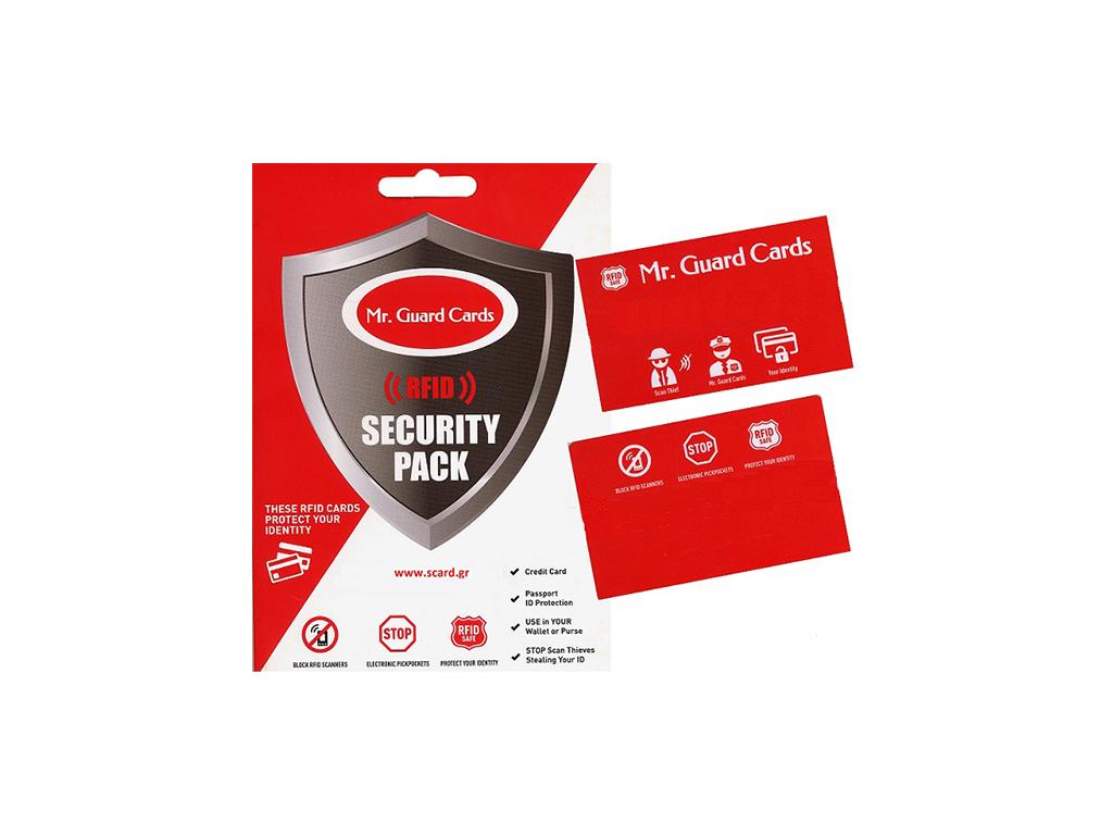 Security Card (Κάρτα Προστασίας Ανέπαφων Συναλλαγών), που προστατεύει γρήγορα και εύκολα τις κάρτες σας από επίδοξους κλέφτες