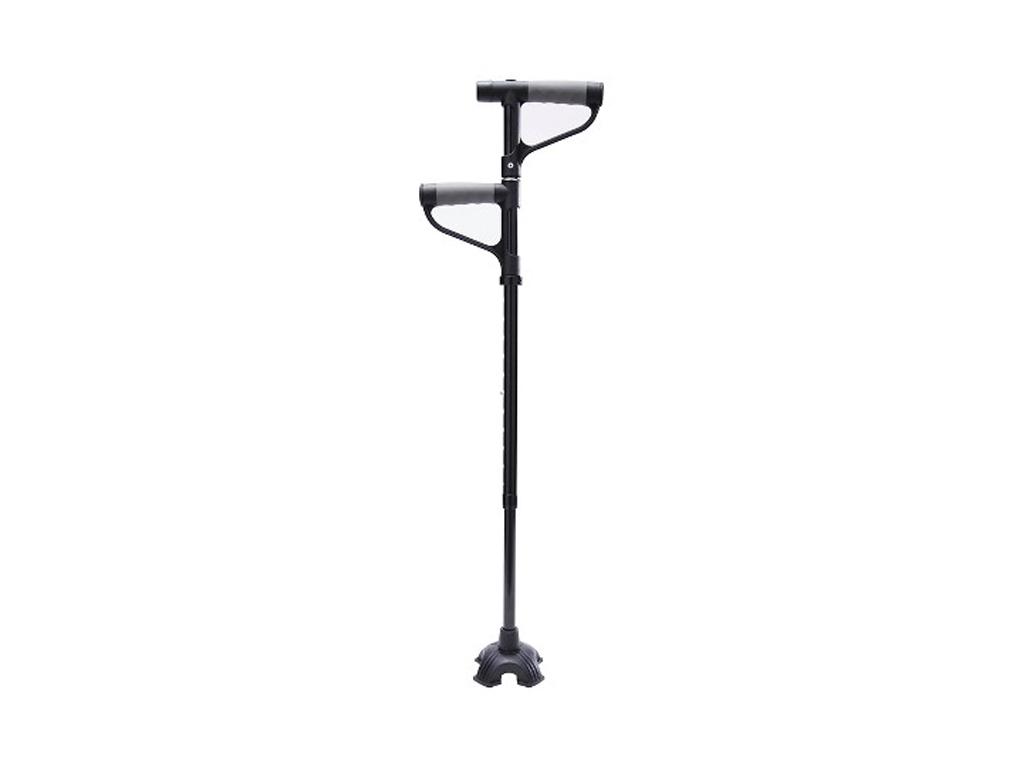 Πτυσσόμενο Μπαστούνι με Δύο Λαβές, Ρύθμιση Ύψους & Φακό LED - My Get Up & Go Can υγεία  και  ομορφιά