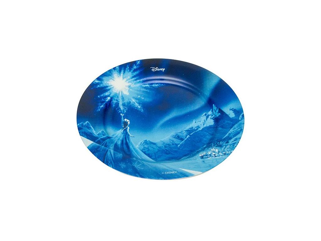 Disney Παιδικό Πιάτο 19cm από Πορσελάνη με θέμα Frozen Elsa, 648391 - Disney σερβίρισμα   σερβίτσια