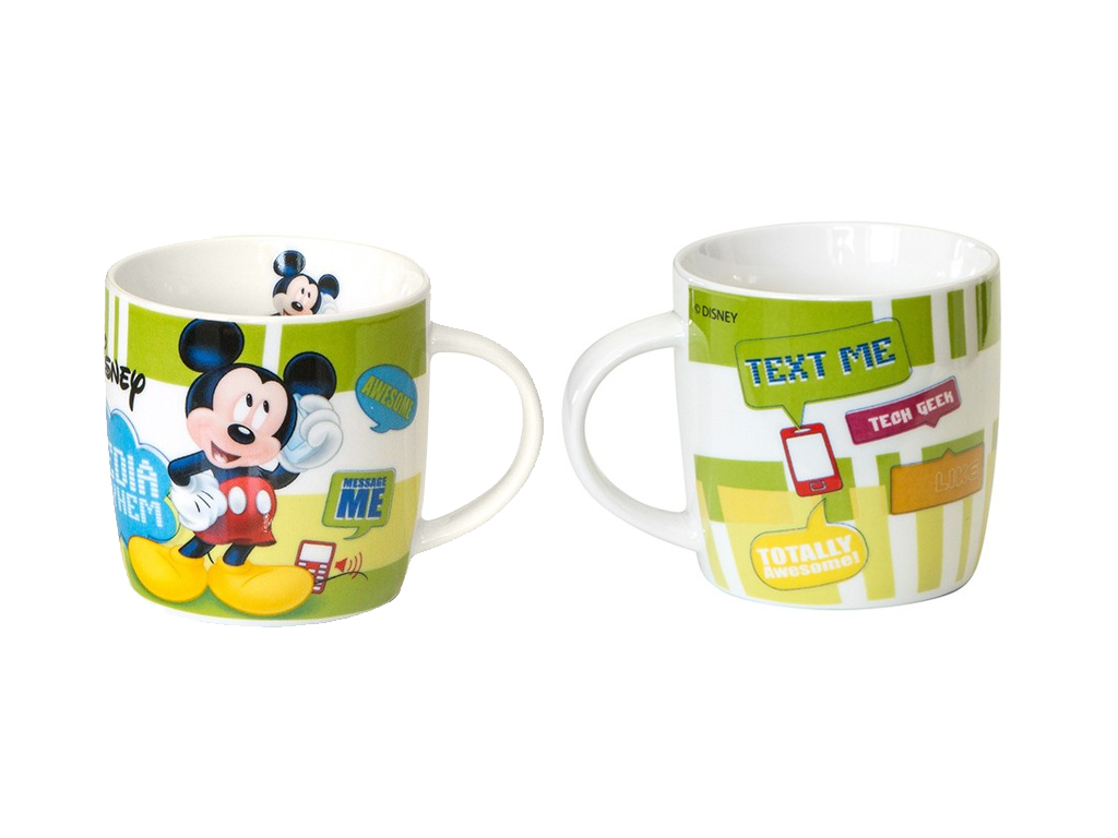 Disney Παιδική Κούπα 280 ml από Πορσελάνη με θέμα Mickey Mouse, 647789 - Disney σερβίρισμα   κούπες και ποτήρια
