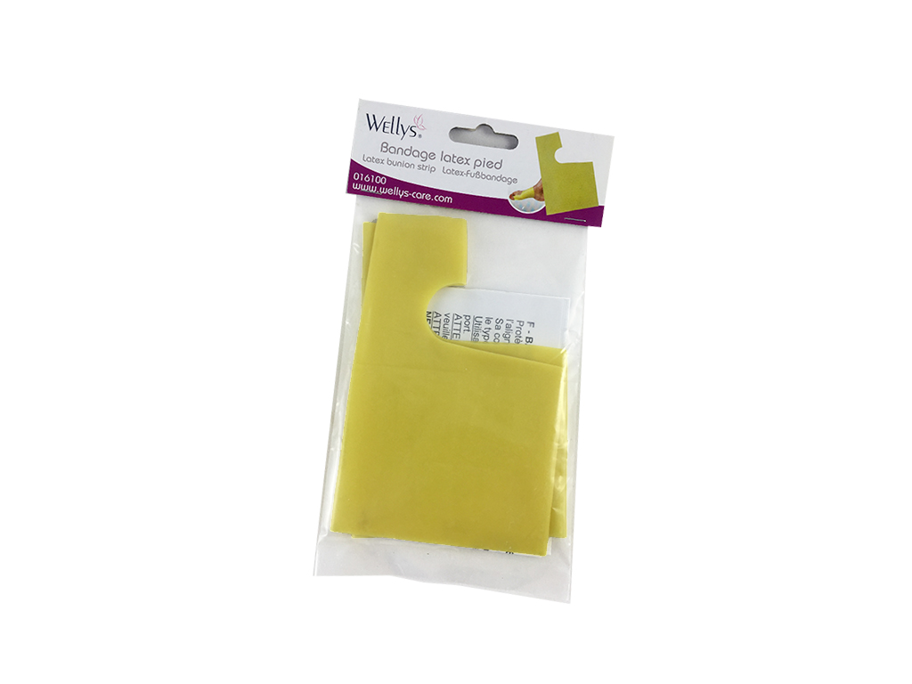 Wellys Προστατευτικός Νάρθηκας για το Κότσι Σετ 2 τεμ. με Διαχωριστικό Δαχτύλου  ξεκούραση και ευεξία   προϊόντα αντιμετώπισης πόνου