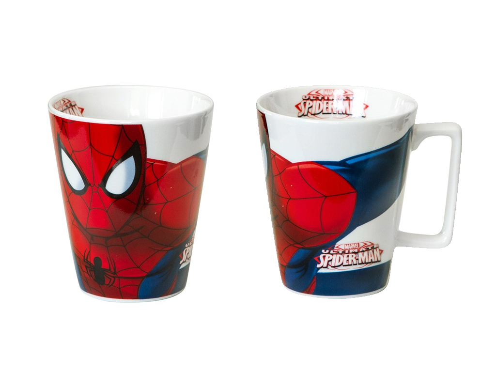 Disney Παιδική Κούπα 315 ml από Πορσελάνη με θέμα Spiderman, 647792 - Disney σερβίρισμα   κούπες και ποτήρια