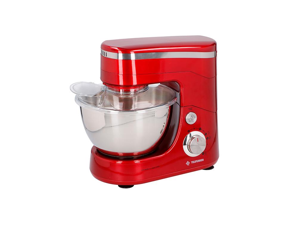 Telefunken Κουζινομηχανή - Μίξερ 800W με Κάδο 5lt και 3 εξαρτήματα Υψηλής Ποιότη για την κουζίνα   κουζινομηχανές πολυκόφτες
