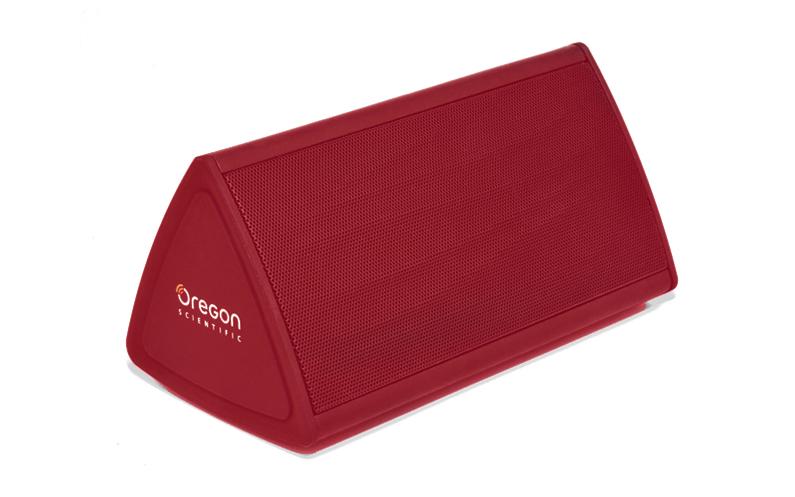 Φορητό Ηχείο Bluetooth 2x2W 136x68x75 mm σε Κόκκινο χρώμα, Oregon Scientific Boo ήχος   bluetooth και μικρά ηχεία