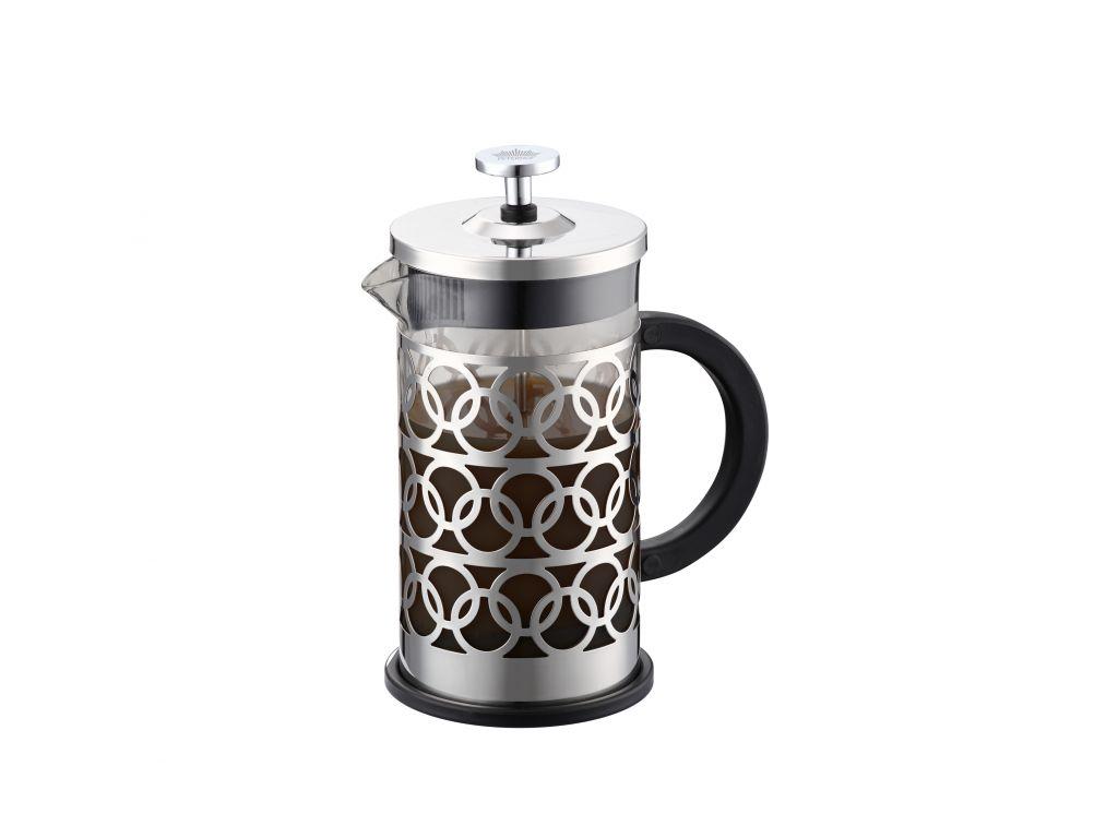 Peterhof Χειροκίνητη Καφετιέρα Γαλλικού 1000ml από Ανοξείδωτο ατσάλι, PH-12533-1 μικροσυσκευές   καφετιέρες