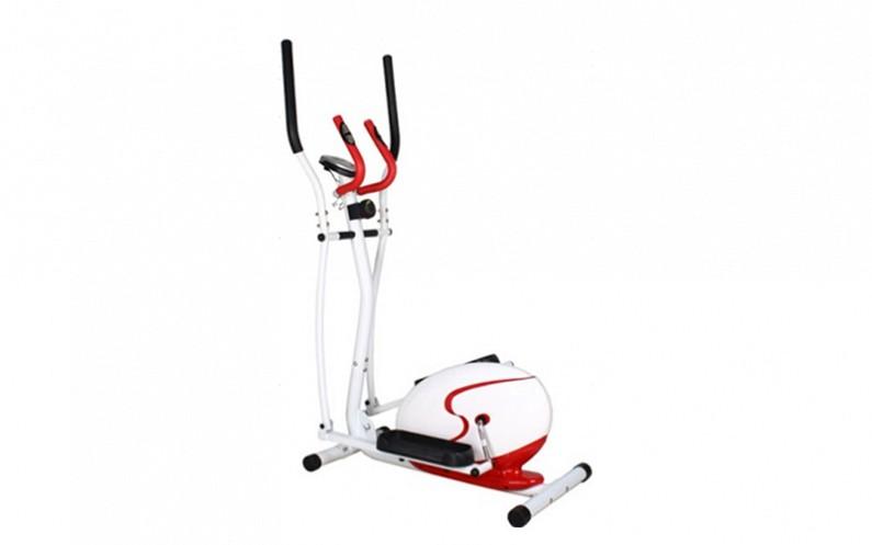 Ελλειπτικό ποδήλατο γυμναστικής σε λευκό κόκκινο χρώμα, OEM 4384 - OEM γυμναστική  και  fitness   ελλειπτικά   περιπατητές
