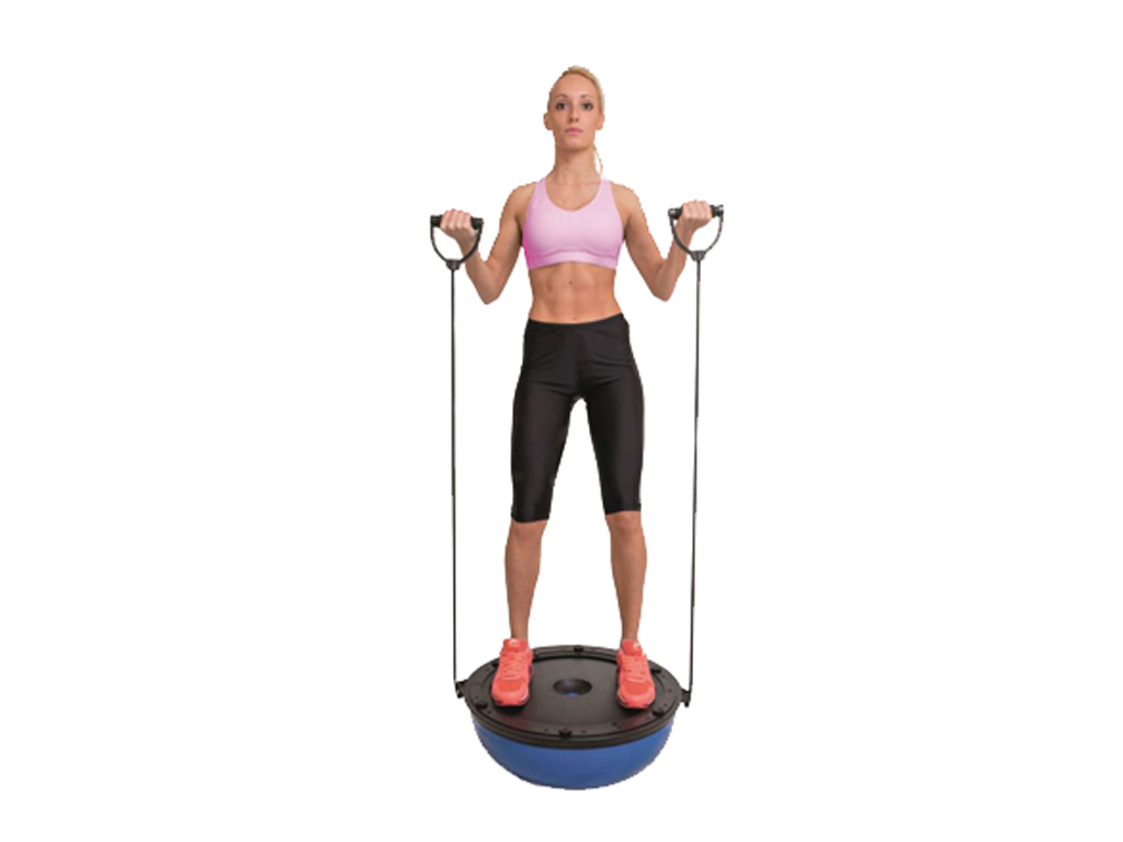 Jocca Μπάλα Ισορροπίας 58cm με 2 Λάστιχα με Λαβές, 6215 - JOCCA home & life αθλητισμός και fitness   όργανα γυμναστικής