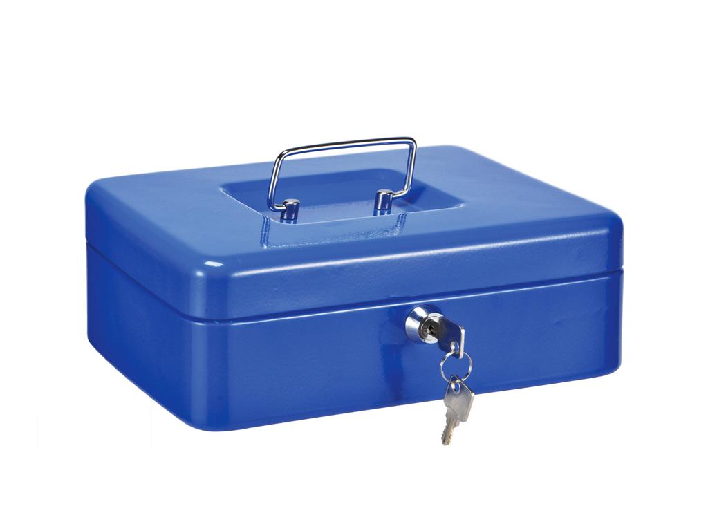 Μεταλλικό Κουτί Ταμείου με Κλειδαριά 24.5x18x8.5cm με εργονομική λαβή και ξεχωρι horeca   επαγγελματικά