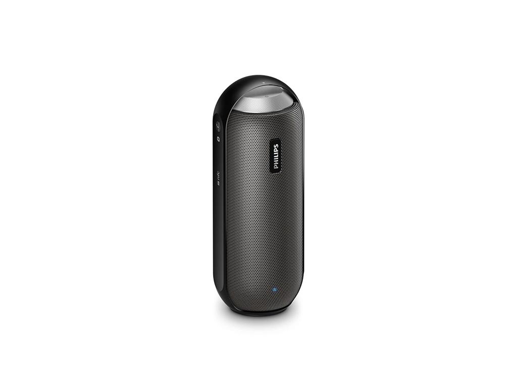 Philips Φορητό Ηχείο Bluetooth 2×6W RMS σε Μαύρο χρώμα, BT6000B - Philips τεχνολογία   ηχεία multimedia