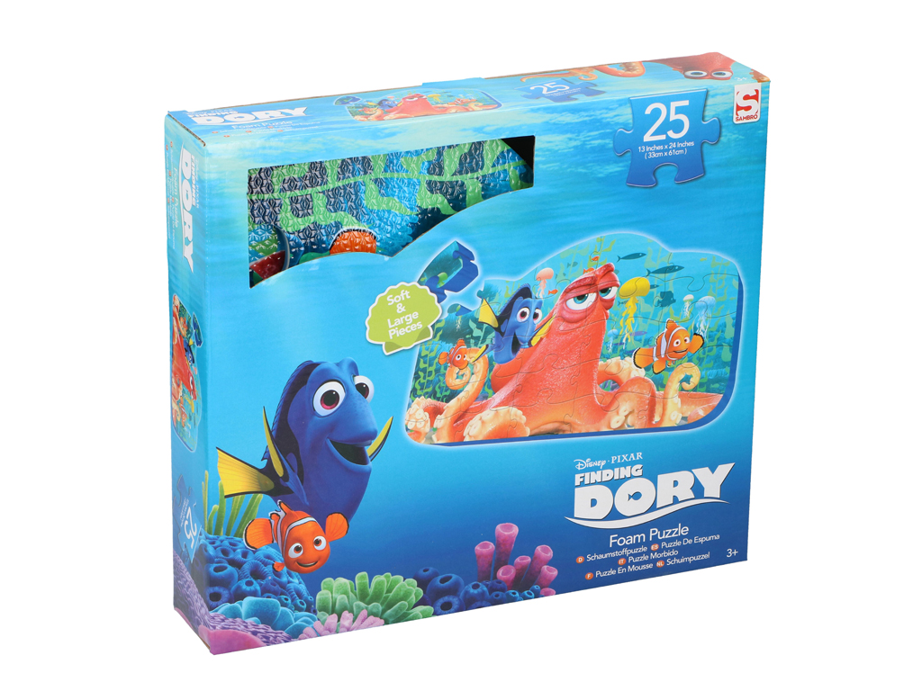 Disney Σετ Παζλ (Puzzle) δαπέδου 25 τεμ. για παιδιά από Αφρώδες υλικό 33x61cm με μωρά και παιδιά   παιδική διακόσμηση