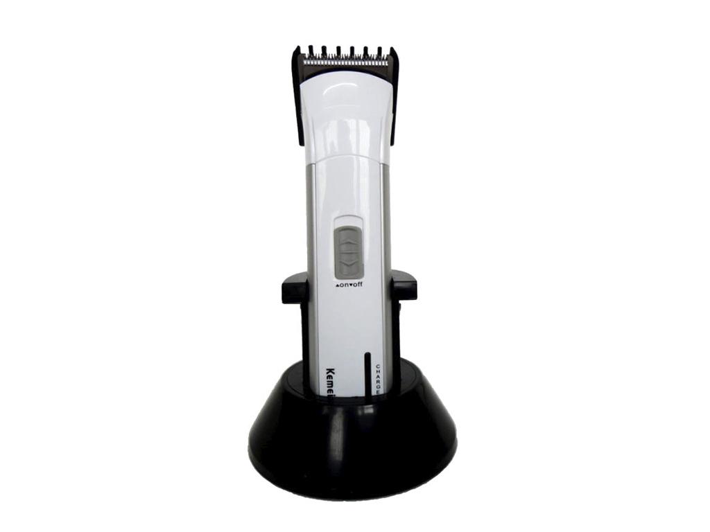 Τρίμερ ( trimmer ) Επαναφορτιζόμενο Επαγγελματικό Kemei KM-2599 Χρώμα Λευκό - KE κομμωτική   κουρευτικές και ξυριστικές μηχανές