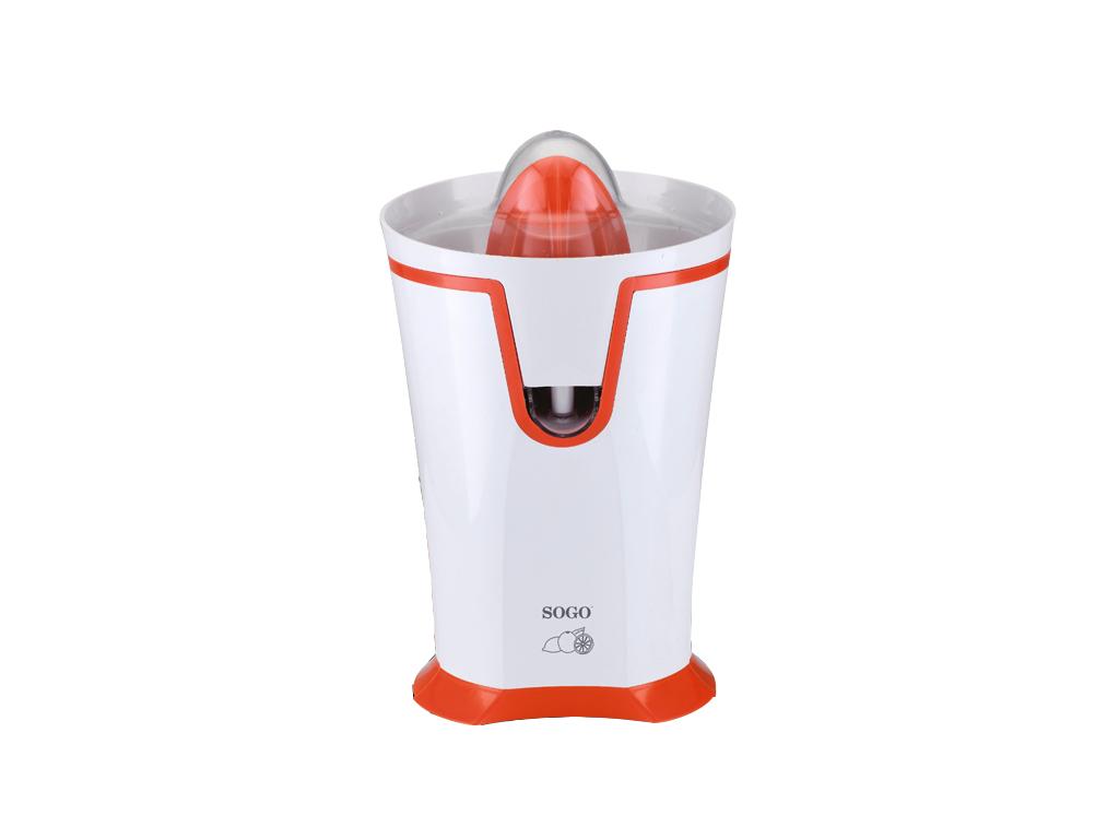 Sogo Αυτόματος Ηλεκτρικός Αποχυμωτής 40W με 2 Κώνους σε Λευκό/Πορτοκαλί χρώμα, E ηλεκτρικές οικιακές συσκευές   αποχυμωτές