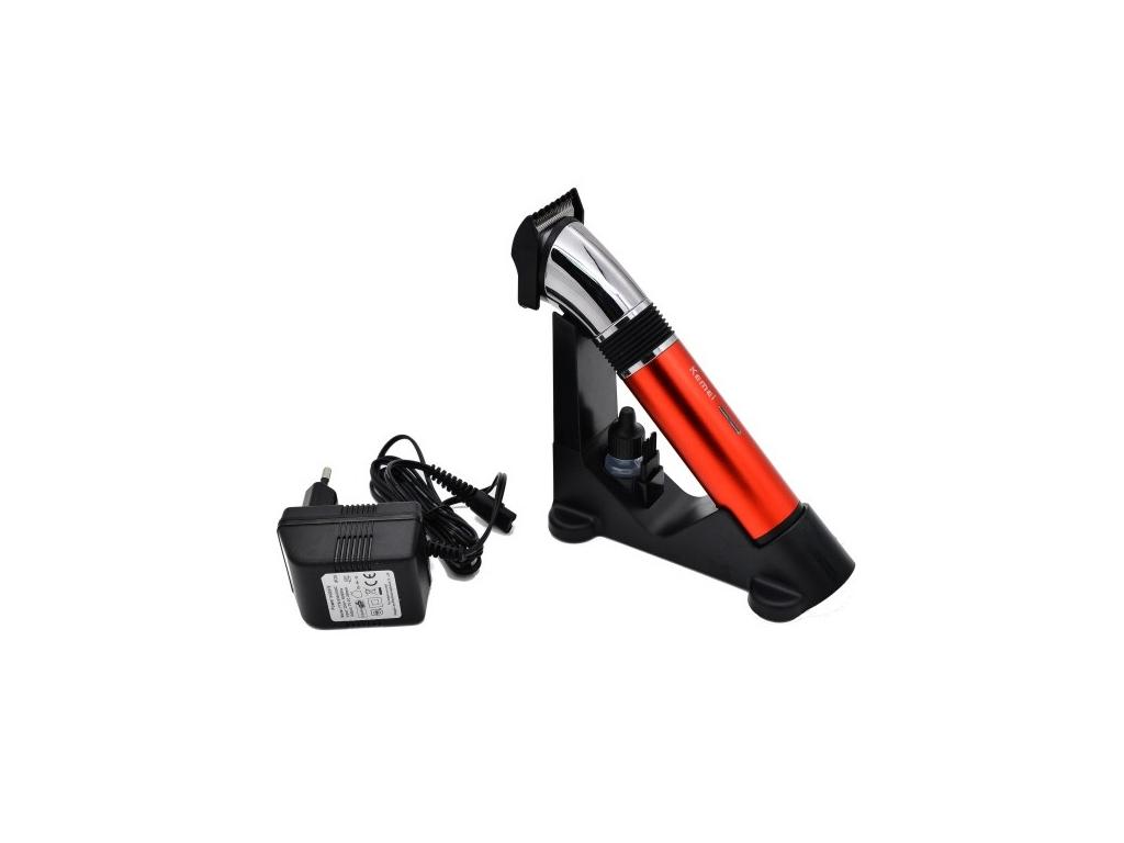 Hellas-tech Kemei Αδιάβροχη Επαναφορτιζόμενη Ξυριστική Κουρευτική Μηχανή  για Μαλλιά και Γένια ac729289dd8