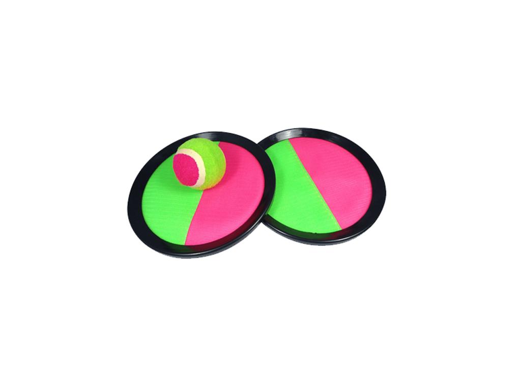 Jocca Παιχνίδι Παραλίας Σετ Ρακέτες με Velcro και Μπαλάκι που κολλάει για Μικρού παιχνίδια   παιχνιδια για εξωτερικούς χώρους
