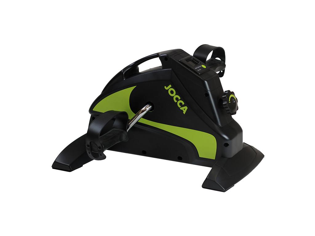 Jocca Στατικό Ποδήλατο Γυμναστικής 46x35x28.5cm σε Μαύρο Πράσινο Χρώμα, 6216 - J όργανα γυμναστικής   στατικά ποδήλατα