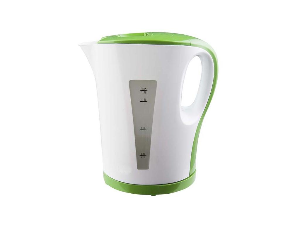Ασύρματος Ηλεκτρικός Βραστήρας Νερού 1.7L 1850-2000W σε Πράσινο/Λευκό χρώμα, W71 ηλεκτρικές οικιακές συσκευές   βραστήρες