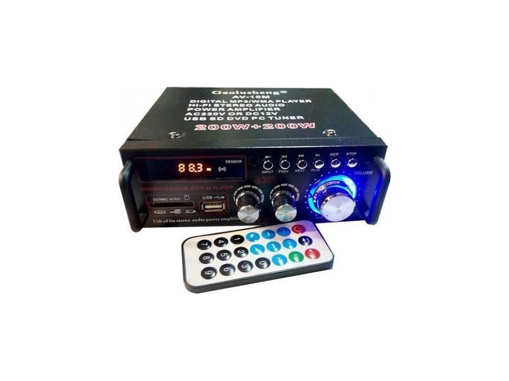 Μίνι Stereo Ραδιοενισχυτής MP3, USB, SD με Bass και Treble 50Watt, BLJ-253 - OEM τεχνολογία
