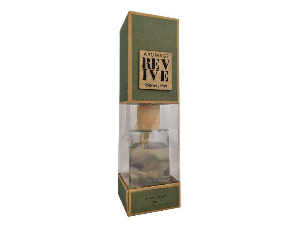 Aromage Αρωματικό Χώρου Revive Rosemary Mint με Στικ 80ml Διασκορπιστής Αρώματος διακόσμηση και φωτισμός   αρωματικά χώρου