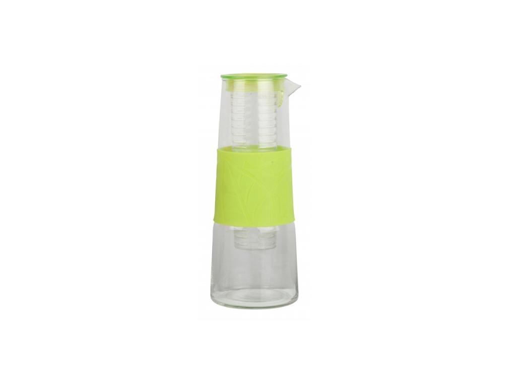 Cuisine Elegance Γυάλινη Κανάτα 1Lt διαστάσεων 25.5x10cm με Λαβή, 98681 Χρώμα Λα σερβίρισμα   μπουκάλια και δοχεία σερβιρίσματος