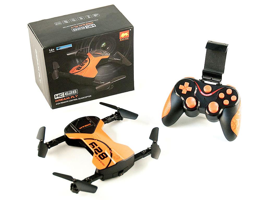 Mini Τηλεκατευθυνόμενο Τετρακόπτερο Drone Dream Fly WIFI με Κάμερα 720p, HC628 - gadgets   drones   τηλεκατευθυνόμενα