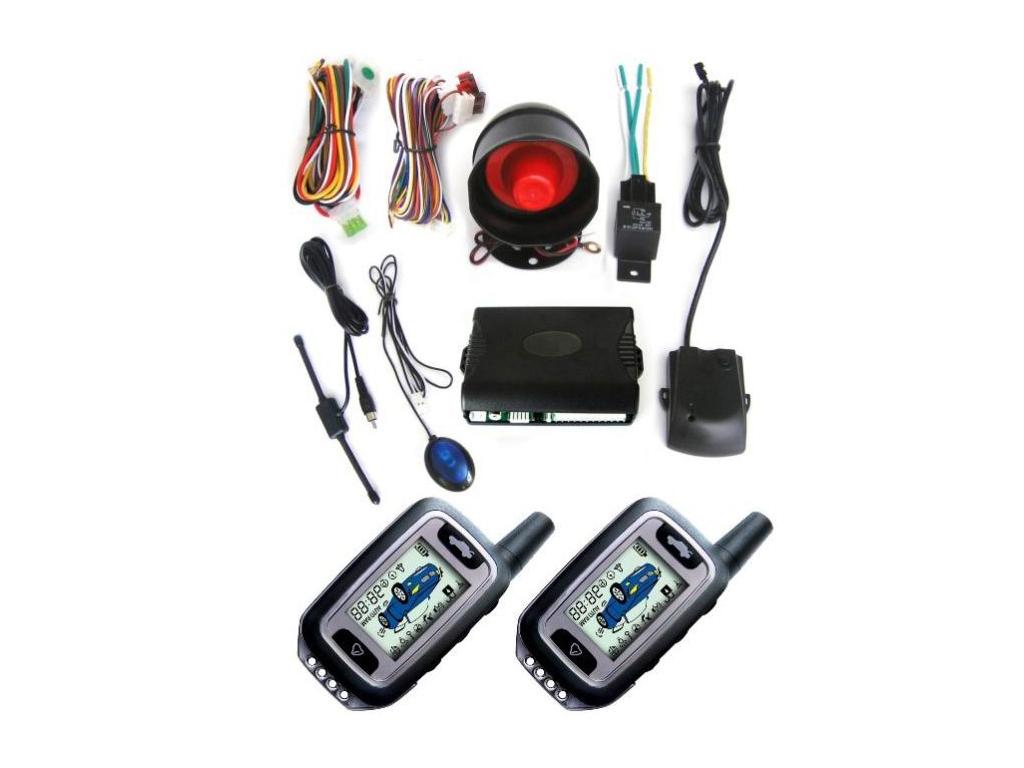 Σύστημα Συναγερμού Αυτοκινήτου 2-Way, HS-500 - OEM αυτοματισμοί και ασφάλεια   συναγερμοί και ανιχνευτές