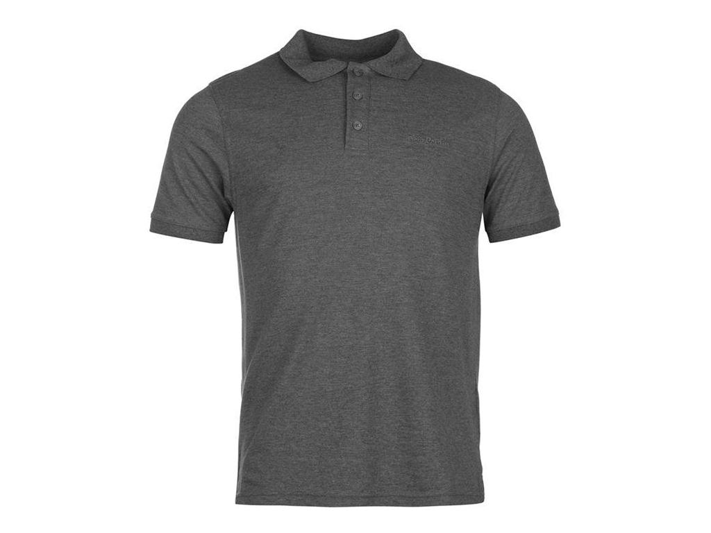 Pierre Cardin Ανδρικό Μπλουζάκι POLO T-Shirt σε Γκρι Ανθρακί χρώμα - Pierre Card ανδρική ένδυση   ανδρικές μπλούζες