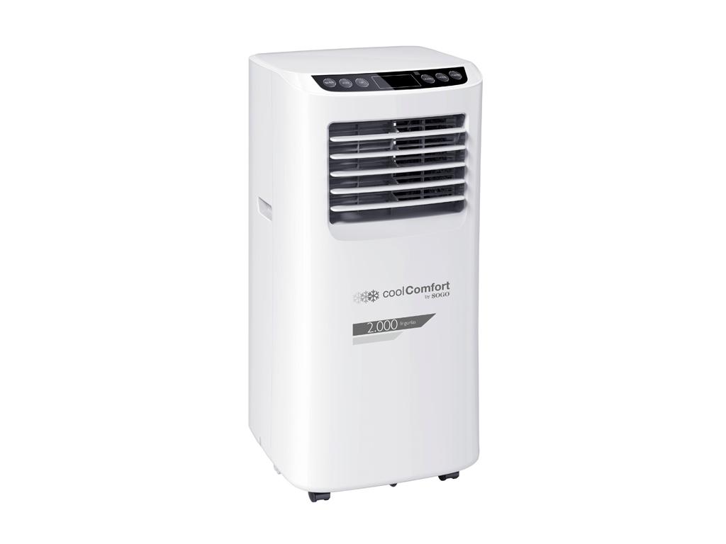 Sogo Φορητό Κλιματιστικό δαπέδου Air Condition 8000 BTU 880W με Σύστημα αυτόματο θέρμανση και κλιματισμός   ψύξη