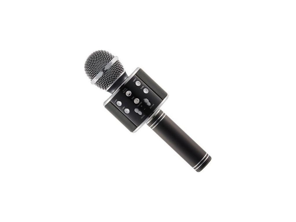 Ασύρματο bluetooth μικρόφωνο με ενσωματωμένο ηχείο και karaoke Καραόκε, WS-858 Χ μικρόφωνα   ασύρματα μικρόφωνα
